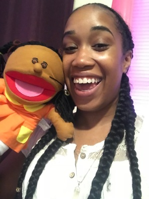 This is my twin puppet.